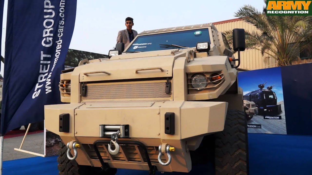 Streit Group Range Of Armored Personnel Carriers Mrap At Ideas 2014 Youtube
