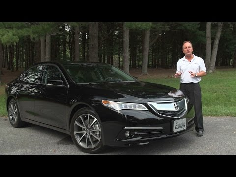 2015 Acura TLX Test Drive & Review