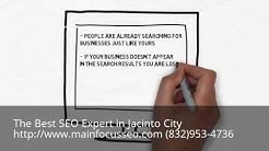Your Jacinto City SEO Company Expert Consultant - Call 832-953-4736