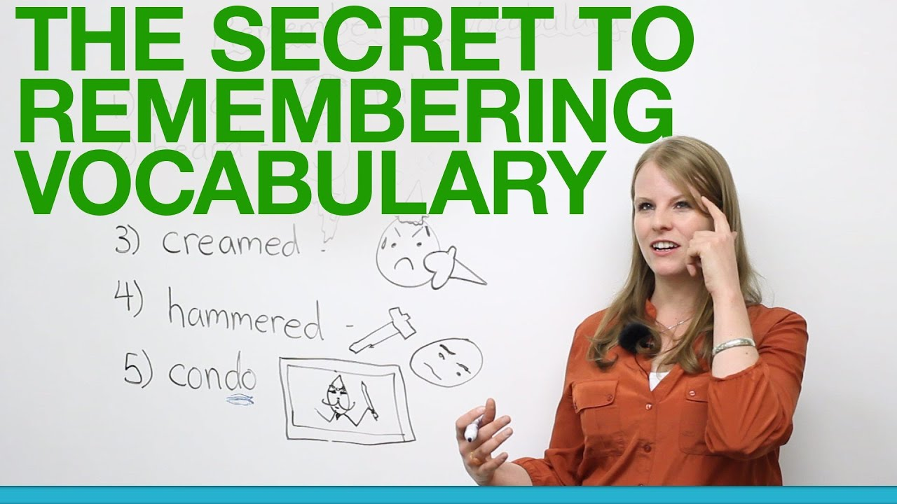 The Secret to Remembering Vocabulary - YouTube