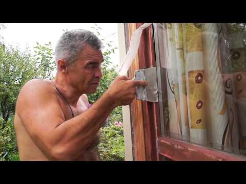 Замена стеклопакетов в деревянных панорамных окнах