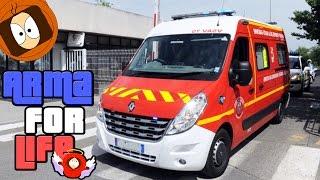 SAPEUR-POMPIER : ACCIDENT VL SUR L'AUTOROUTE ! | ARMA FOR LIFE