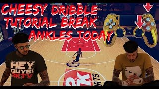 Nba 2k17 | momentum crossover to behind the back combo dribble tutorial | how to cheese and break an