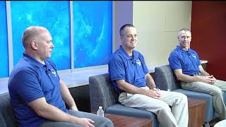 News Conference Features with Next Space Station Crew