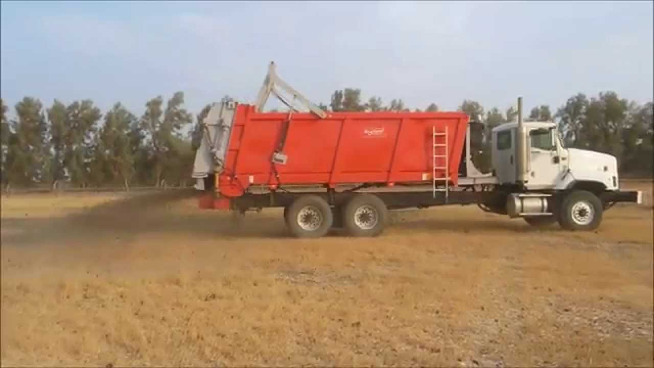 Spreaders Mounted Lime Truck Fertilizer