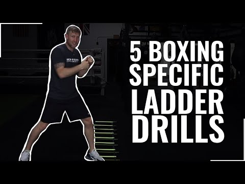 5 Boxing specific ladder drills  SUBSCRIBE FOR MORE