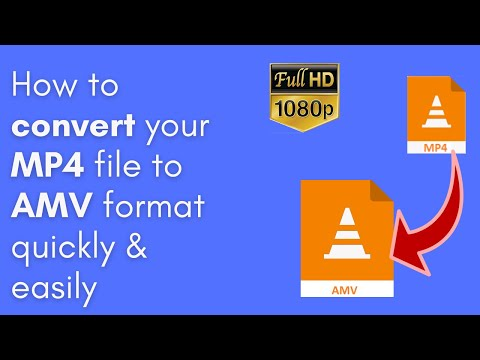 How to convert MP4 file(s) to AMV format quickly & easily in November 2020 (PC & Mac) from YouTube · Duration:  1 minutes 38 seconds