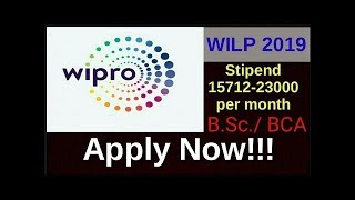 Work Integrated Learning Program (WILP) 2019