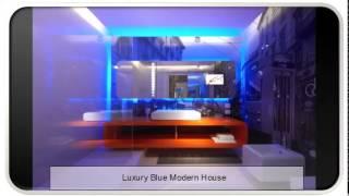 Luxury Blue Modern House