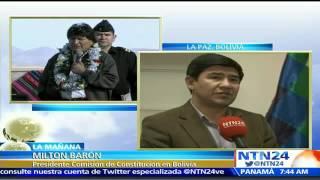 Tribunal Constitucional de Bolivia avala el referendo para la reelección de Evo Morales 2017 Video