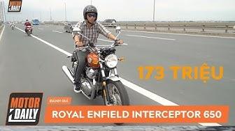 PKL - Chạy thử và Đánh giá Royal Enfield Interceptor 650 giá 173 triệu |Enfield 650 Review|