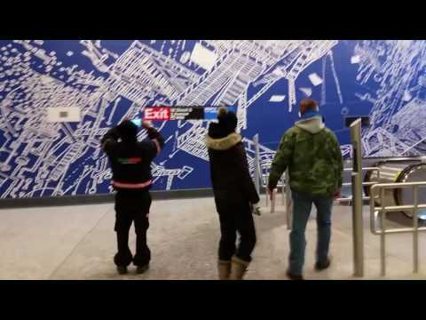 Second Avenue Subway Q Train turn into an N Train and Back