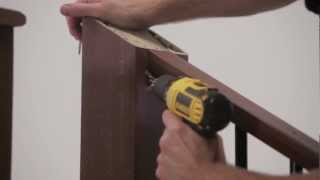 Timbertech Evolutions Rail™ Contemporary With Metal Balusters For Stairs Install