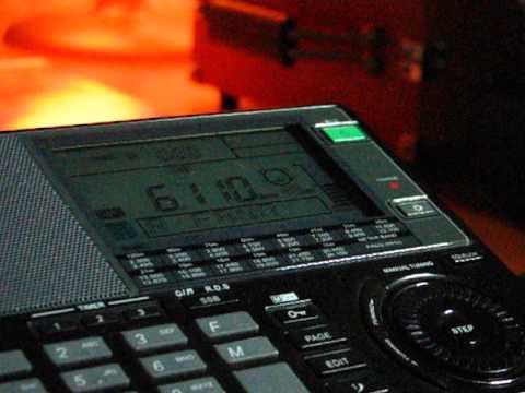 SW: Radio Fana 6110 KHz Addis Abeba, Ethiopia 2013-04-24