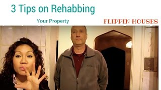 3 Tips on getting your rehab on! With Mike Home Inspector:Flipping Houses Chicago