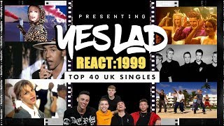 yes lad react top 40 singles of 1999 britney spears robbie williams madonna eminem steps
