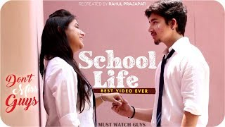 School Life Love Story Song | School Life Funny Video | School Life Love School Song