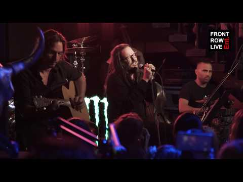 "Jonathan Davis Performs ""What It Is"" at 'Black Labyrinth' Album Release Party"