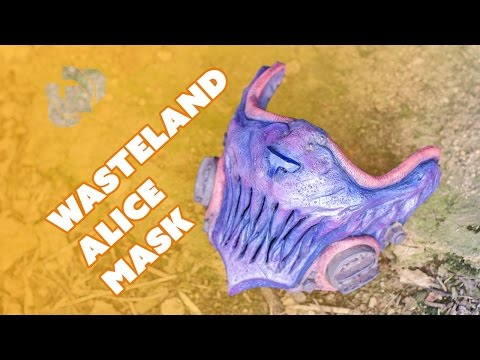 Wasteland Alice Mask from SKS Props - Prop: Live from the Shop