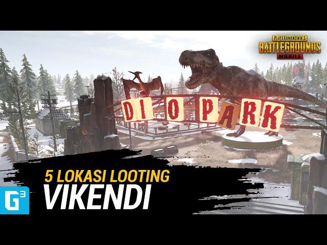 5 LOKASI LOOTING TERBAIK DI VIKENDI! [ PUBG Mobile ]