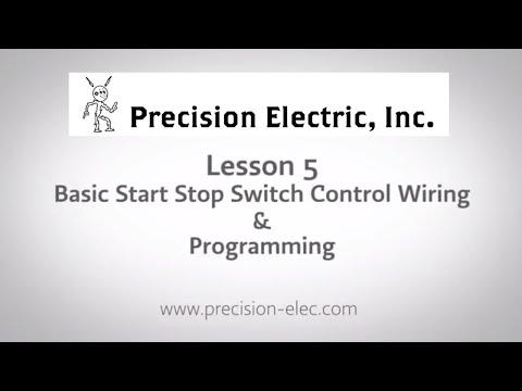 ABB ACS355 Training Lesson 5: Basic Start Stop Selector ... on
