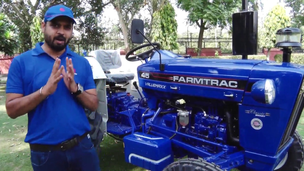 FARMTRAC 45 Smart Valuemaxx with 48HP Engine & Sweptback Axle