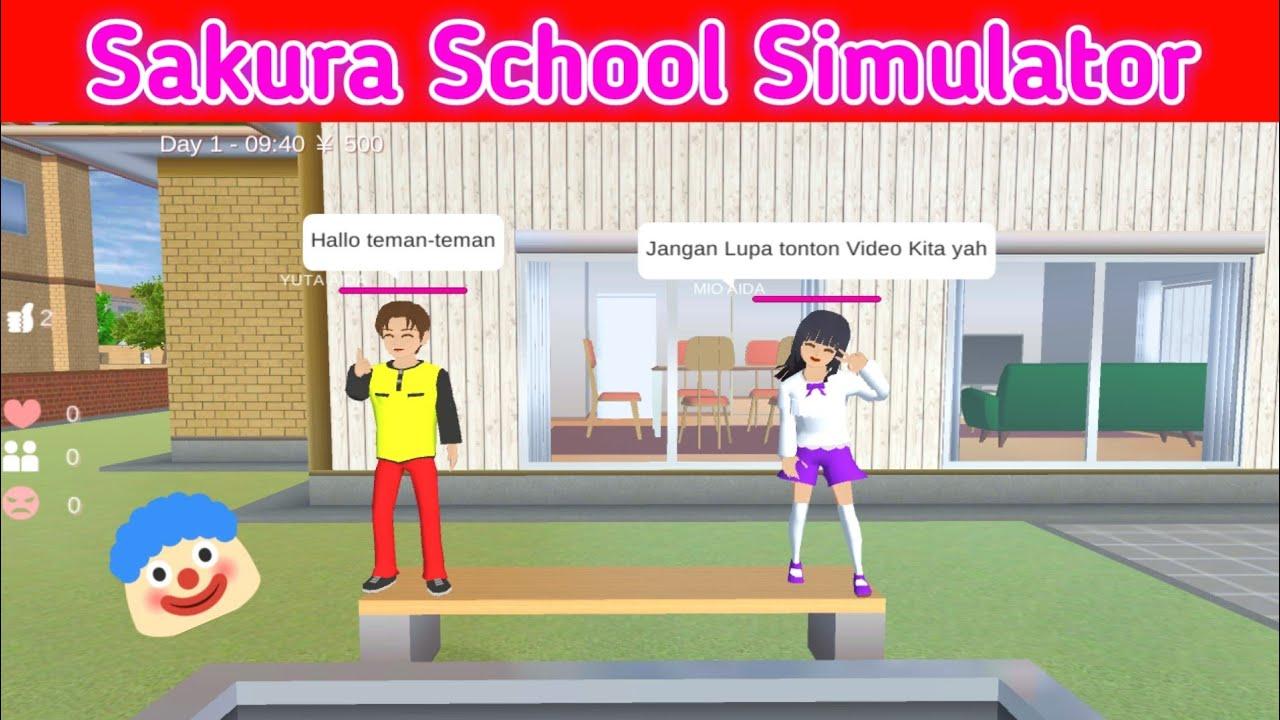 Cara Bicara Di Sakura School Simulator Youtube