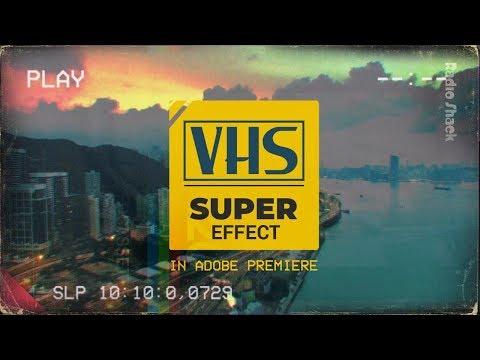Как сделать VHS-эффект в Premiere (без плагинов, Джимбо)