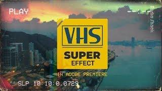 кАК СДЕЛАТЬ VHS ЭФФЕКТ