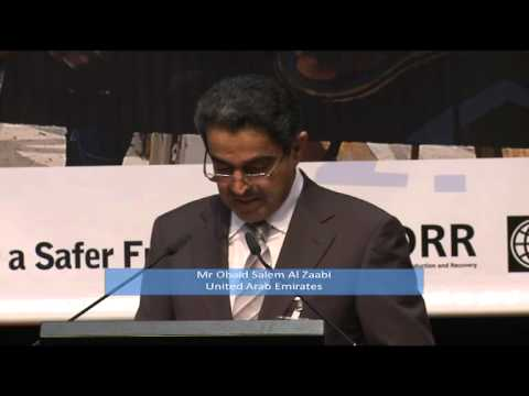 United Arab Emirates: Disaster Risk Reduction Statement at GP11