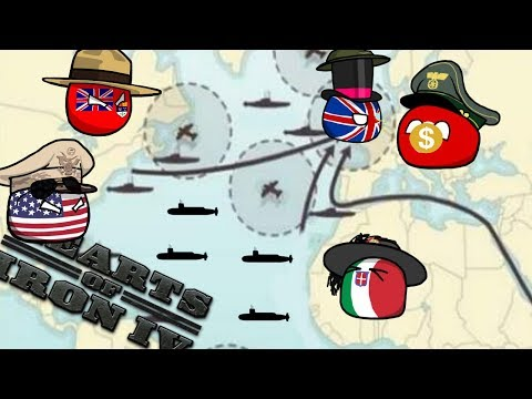 The Battle of The Atlantic - Hoi4 MP In A Nutshell