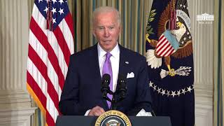 President Biden Delivers Remarks Outlining his Racial Equity Agenda and Signs Executive Actions