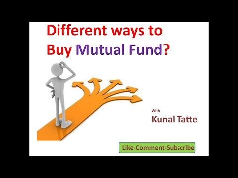 04 -Different ways to buy mutual fund(Hindi)