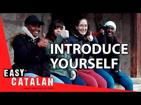 Tiếng Catalan bài 2: Giới thiệu bản thân