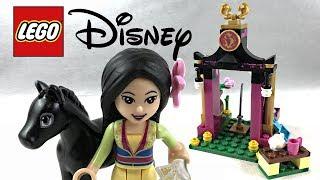LEGO Disney Mulan's Training Day review! 2018 set 41151!