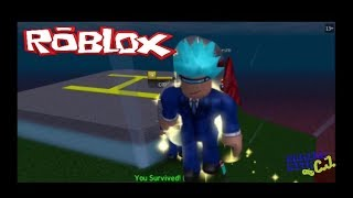 ESCAPING FLOOD ISLAND in ROBLOX | Gaming with CJ