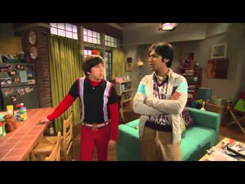 The Big Bang Theory set tour with Simon (Howard) and Kunal (Raj)