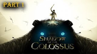 Shadow of the Colossus PS4 Pro Part 1 Die Einführung