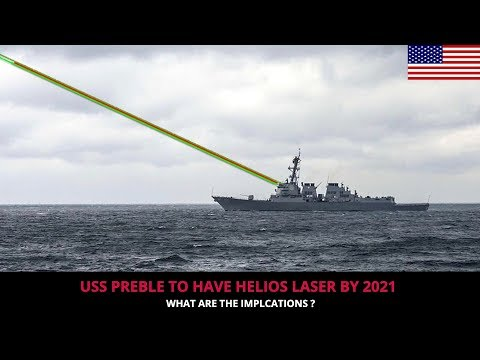USS PREBLE WILL BE THE FIRST WARSHIP TO HAVE LASER WEAPON !!