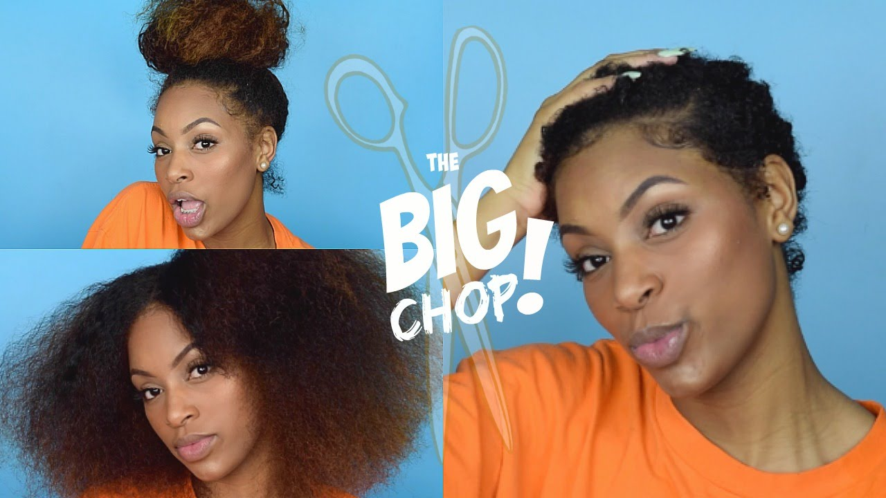 big chop tutorial: use this step by step guide to get