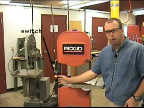 Band Saw Operation