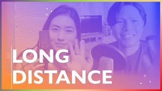アイズディーンと涼泊(りょうはく)がオリジナル曲「Long Distance」を歌ってみたらこうなった|J-pop|Original