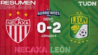 Resumen y goles   Necaxa 0-2 León   Guard1anes 2020 Liga BBVA MX - J8   TUDN