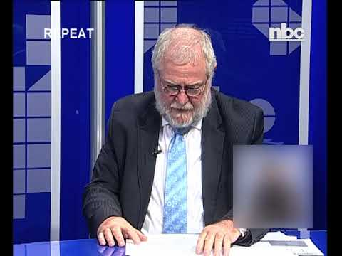 Interview: Finance Minister Schlettwein on Fitch downgrade - NBC