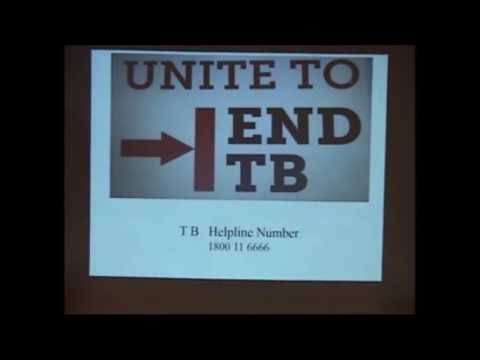 PUBLIC LECTURE ON TUBERCULOSIS CONTROL