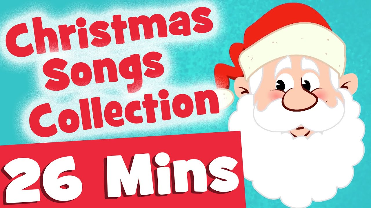 Ho Ho Ho Christmas Songs for Kids | 26mins Video Collection - YouTube