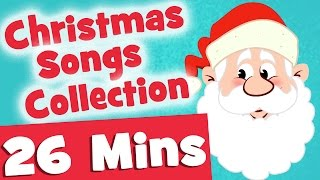 Ho Ho Ho Christmas Songs for Kids | 26mins Video Collection