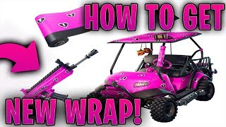 HOW TO GET NEW *CUDDLE HEARTS WRAP* NEW FORTNITE WRAP!