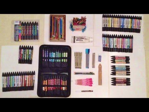 Mon matériel de dessin - My Tools