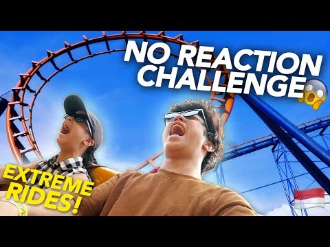 EXTREME RIDES NO REACTION CHALLENGE!!! | Ranz and Niana